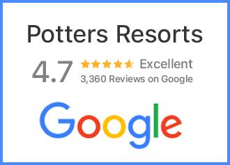 Potters Resort's Google Reviews