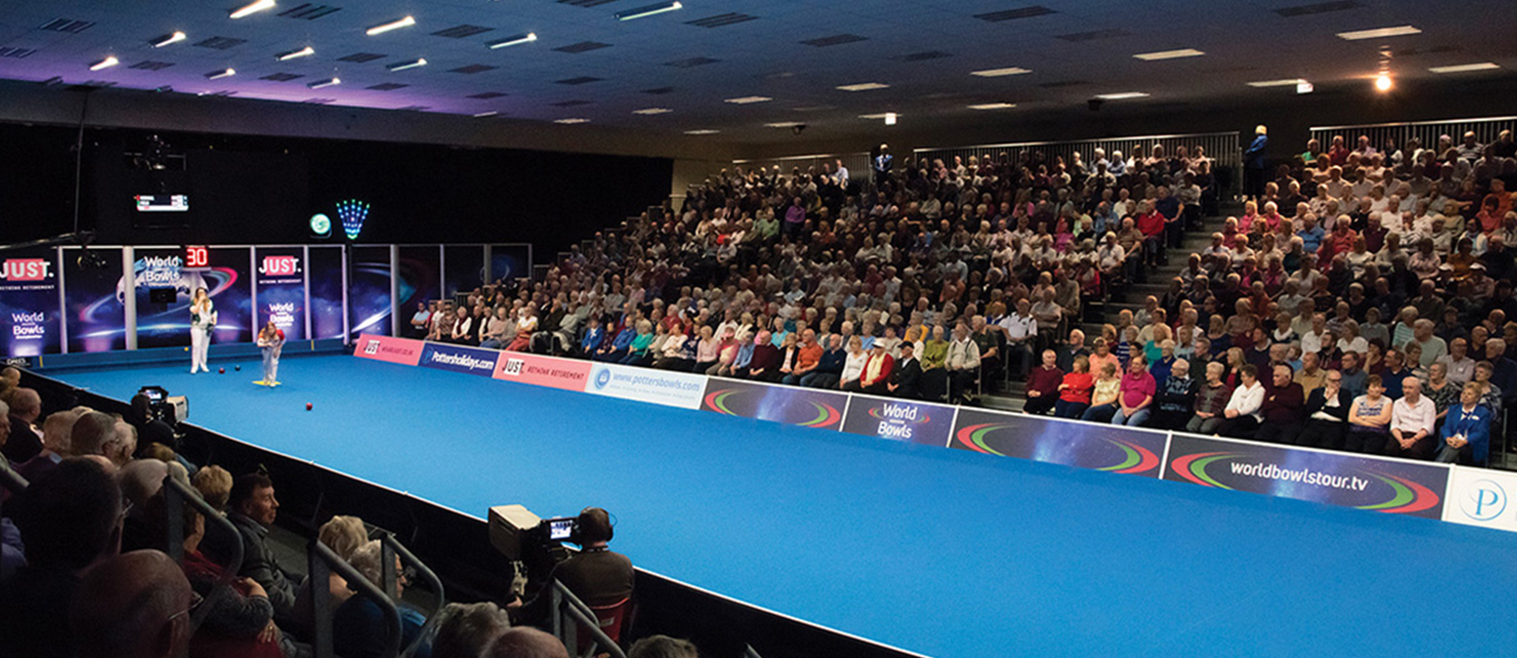 Home of the The Just 2021 World Indoor Bowls Championships
