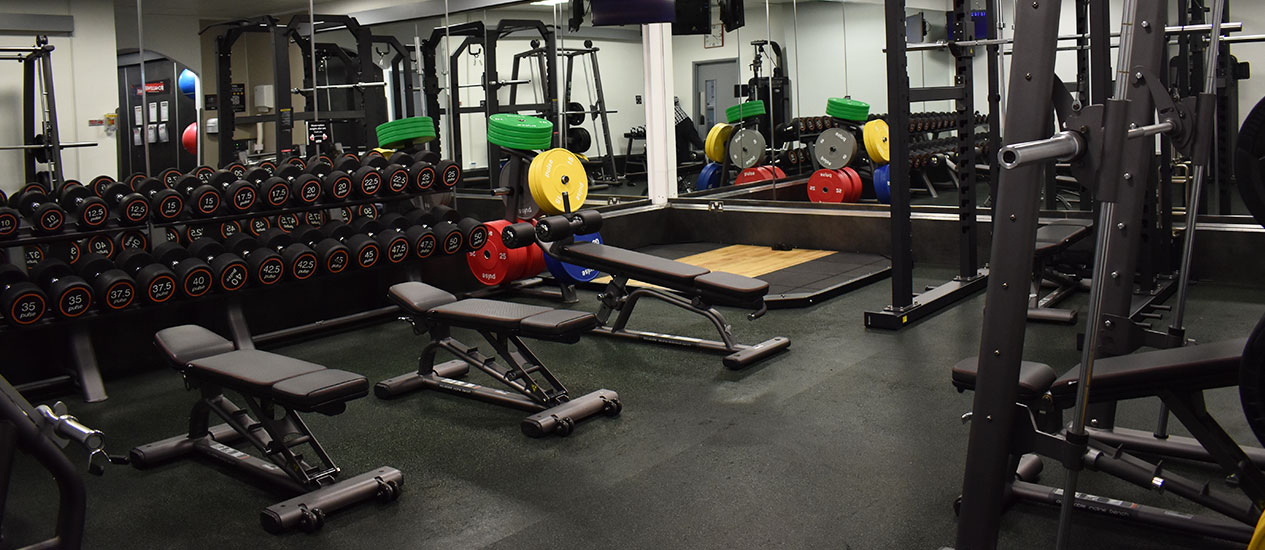 Free-Weights Gym