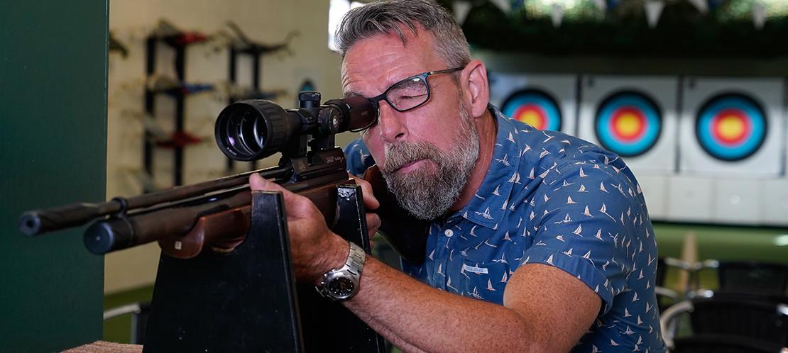 Couple on Giants Swing