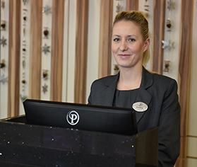 Reception team member